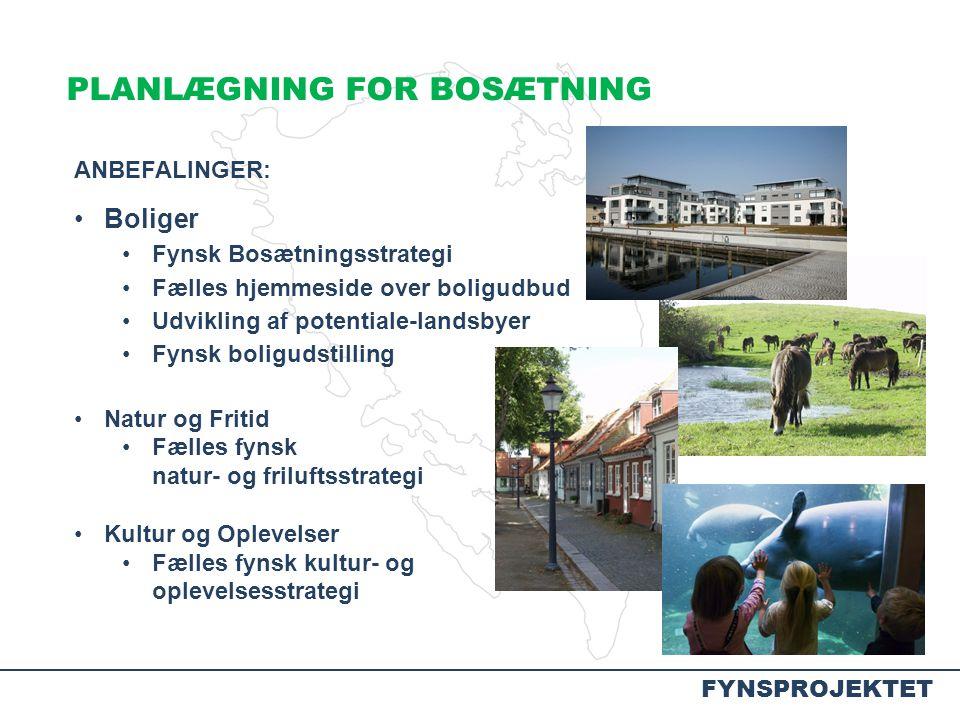 PLANLÆGNING FOR BOSÆTNING