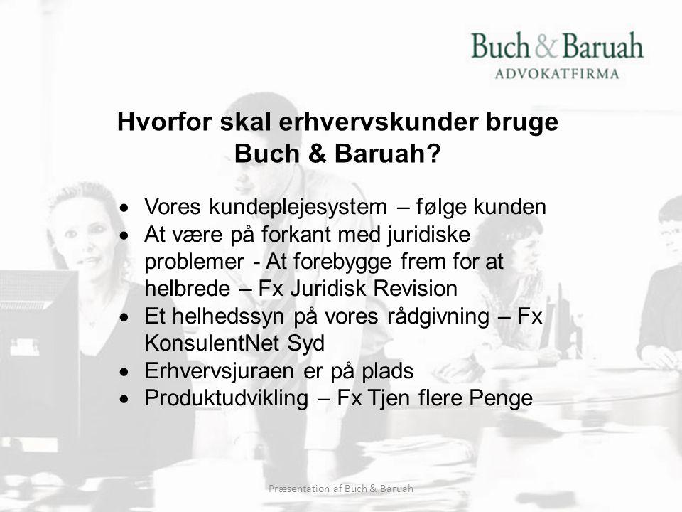 Hvorfor skal erhvervskunder bruge Buch & Baruah