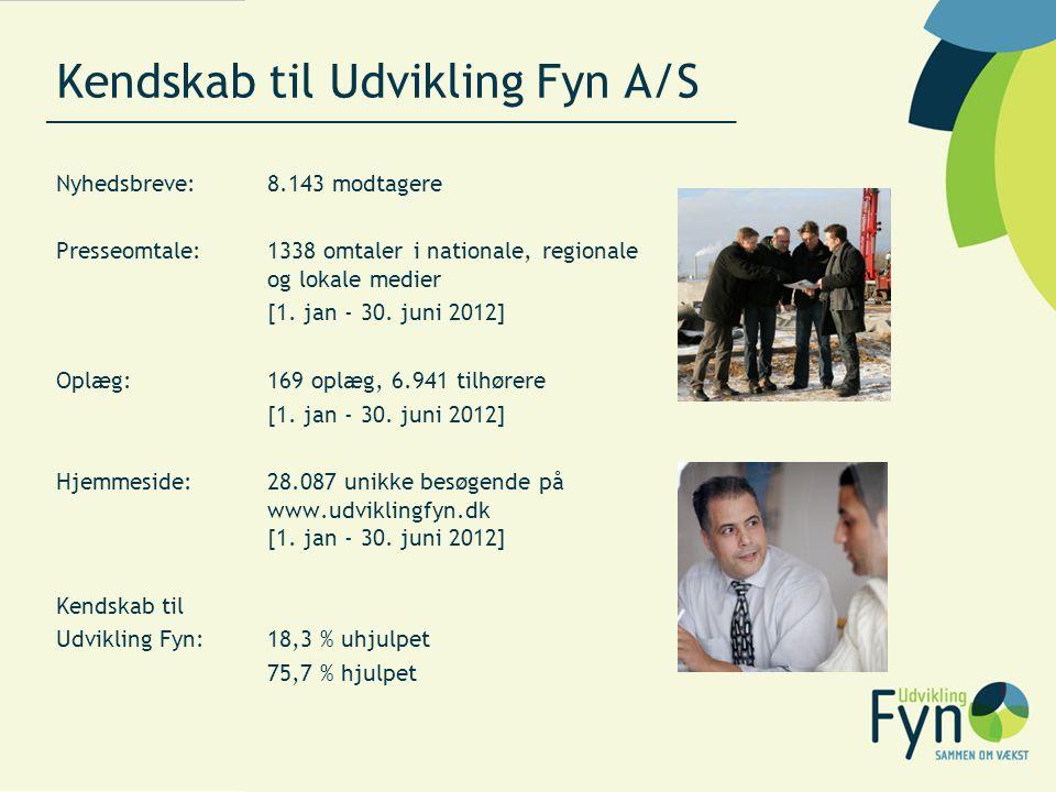 Kendskab til Udvikling Fyn A/S