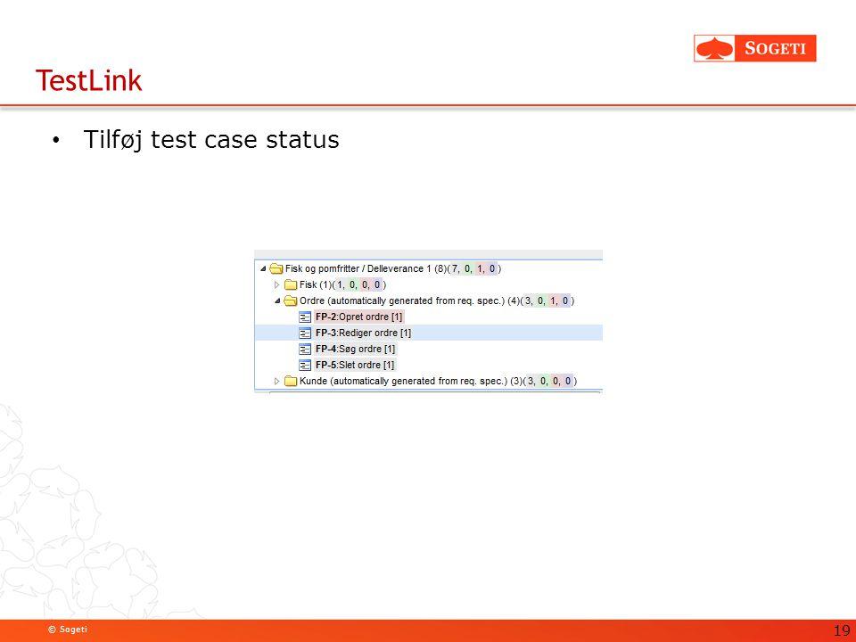 TestLink Tilføj test case status 19