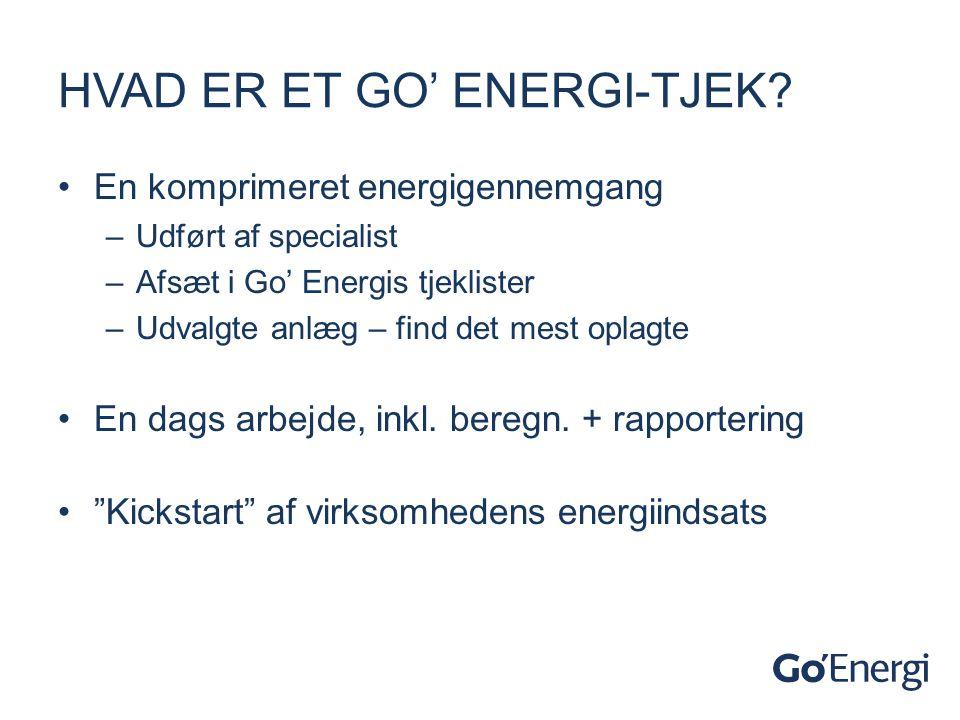 Hvad er et go' energi-tjek