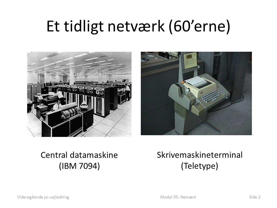 Et tidligt netværk (60'erne)
