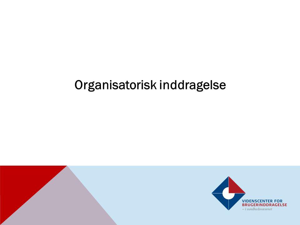 Organisatorisk inddragelse