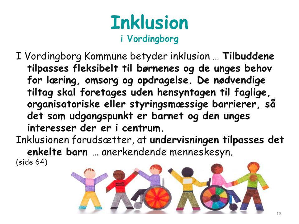 Inklusion i Vordingborg