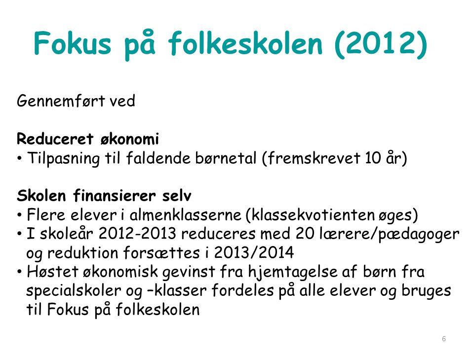 Fokus på folkeskolen (2012)