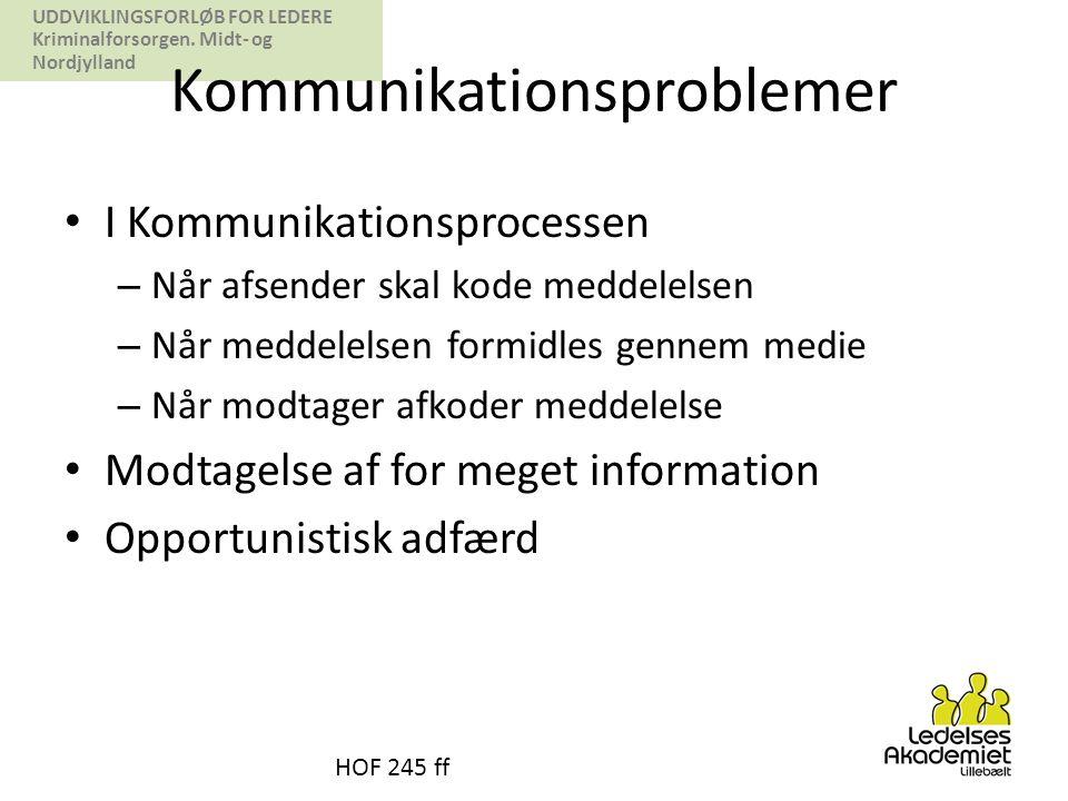Kommunikationsproblemer