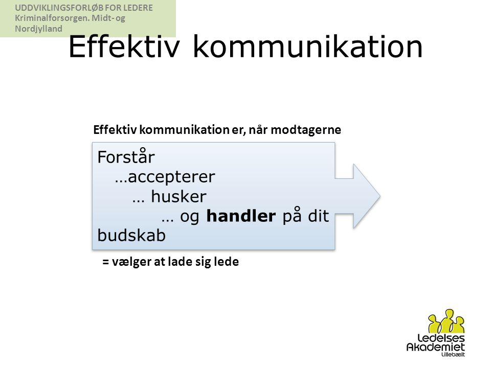 Effektiv kommunikation