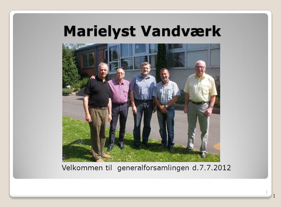 Velkommen til generalforsamlingen d.7.7.2012