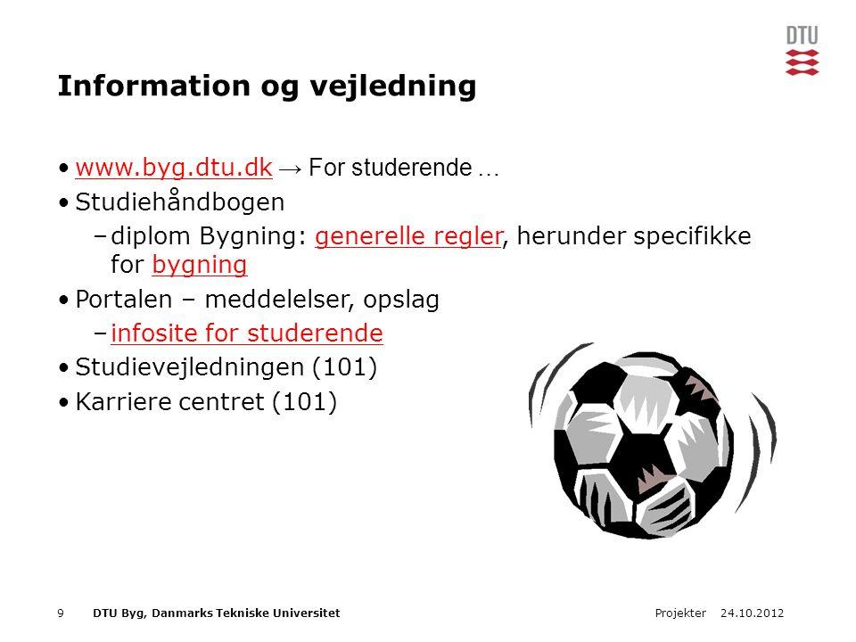 Information og vejledning