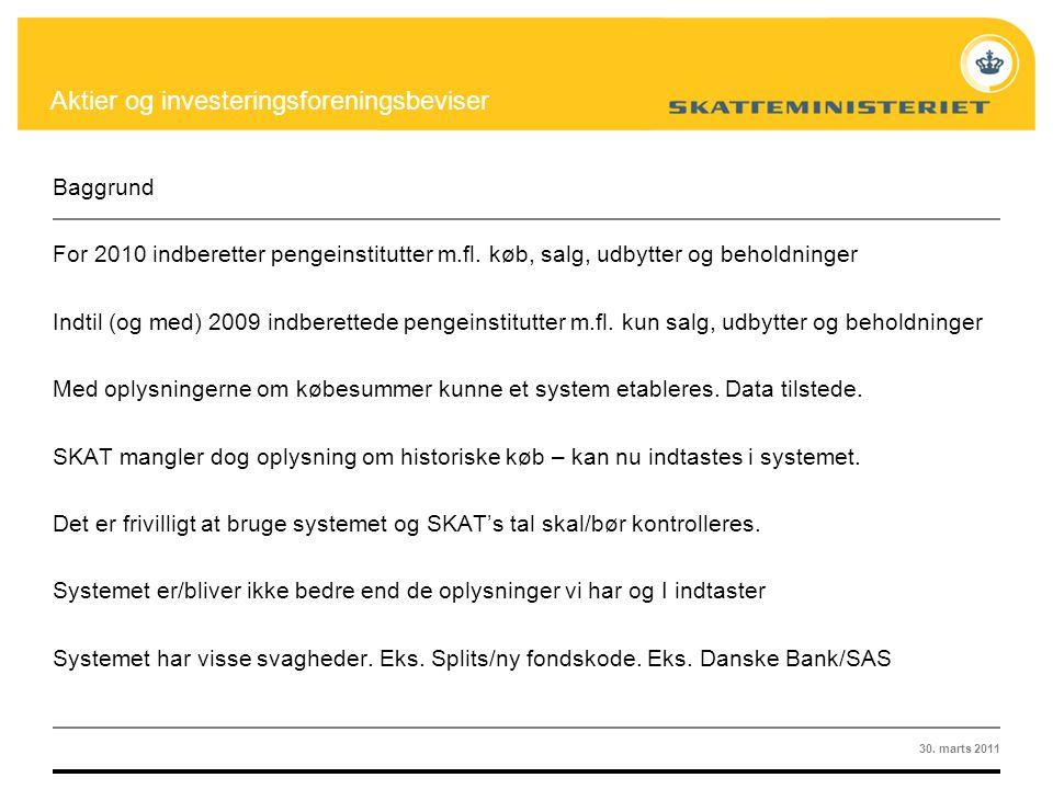 Aktier og investeringsselskaber - ppt download