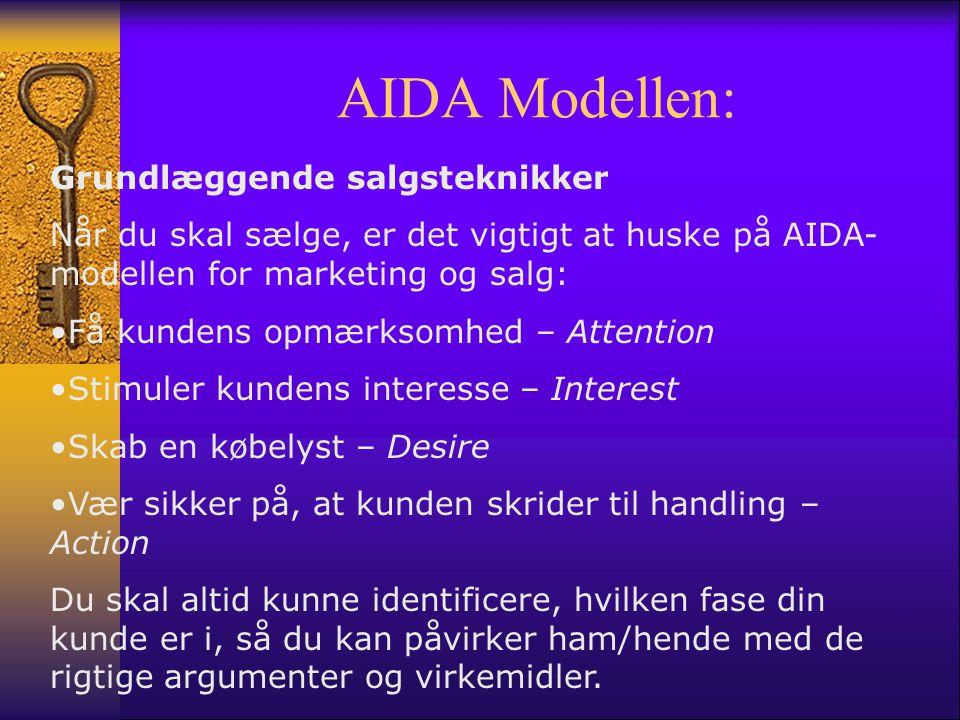 AIDA Modellen: Grundlæggende salgsteknikker