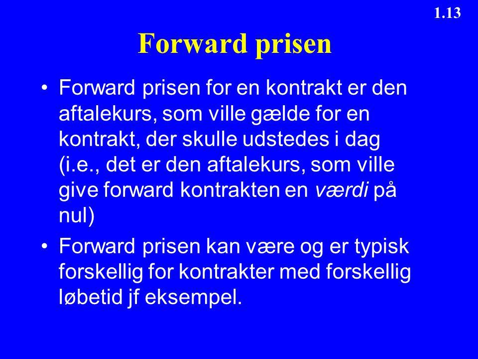 Forward prisen