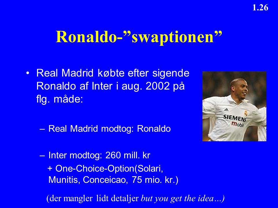 Ronaldo- swaptionen