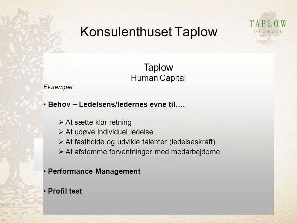 Konsulenthuset Taplow