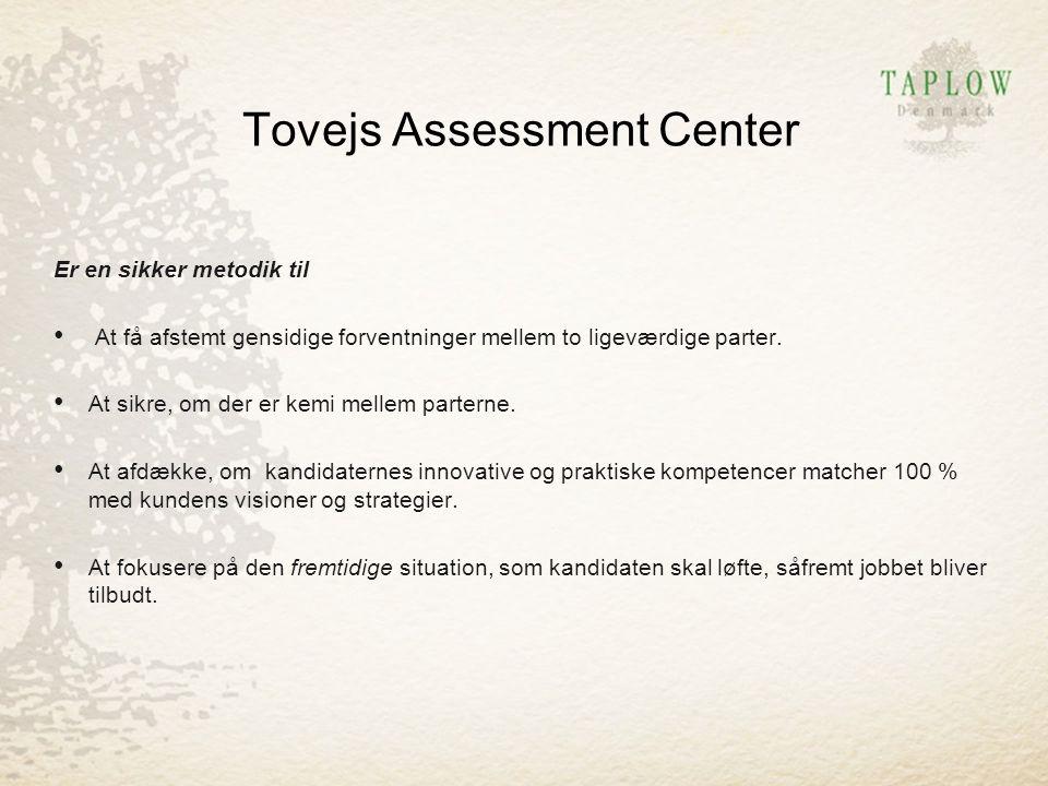 Tovejs Assessment Center