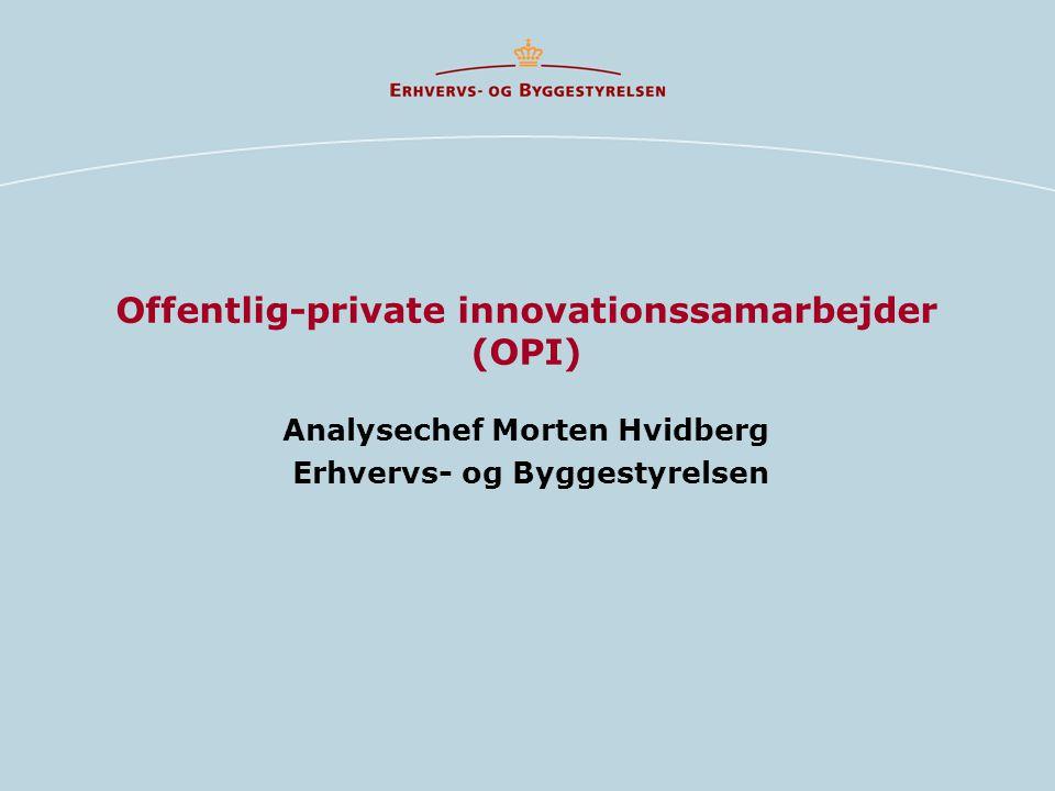Offentlig-private innovationssamarbejder (OPI)