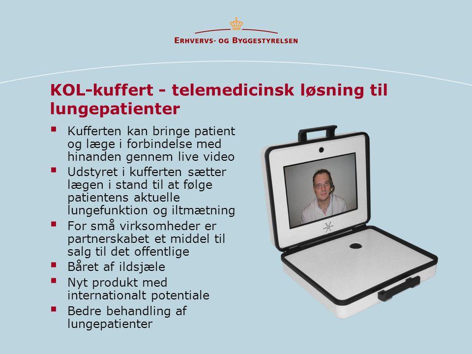 KOL-kuffert - telemedicinsk løsning til lungepatienter