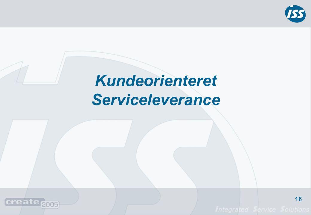 Kundeorienteret Serviceleverance