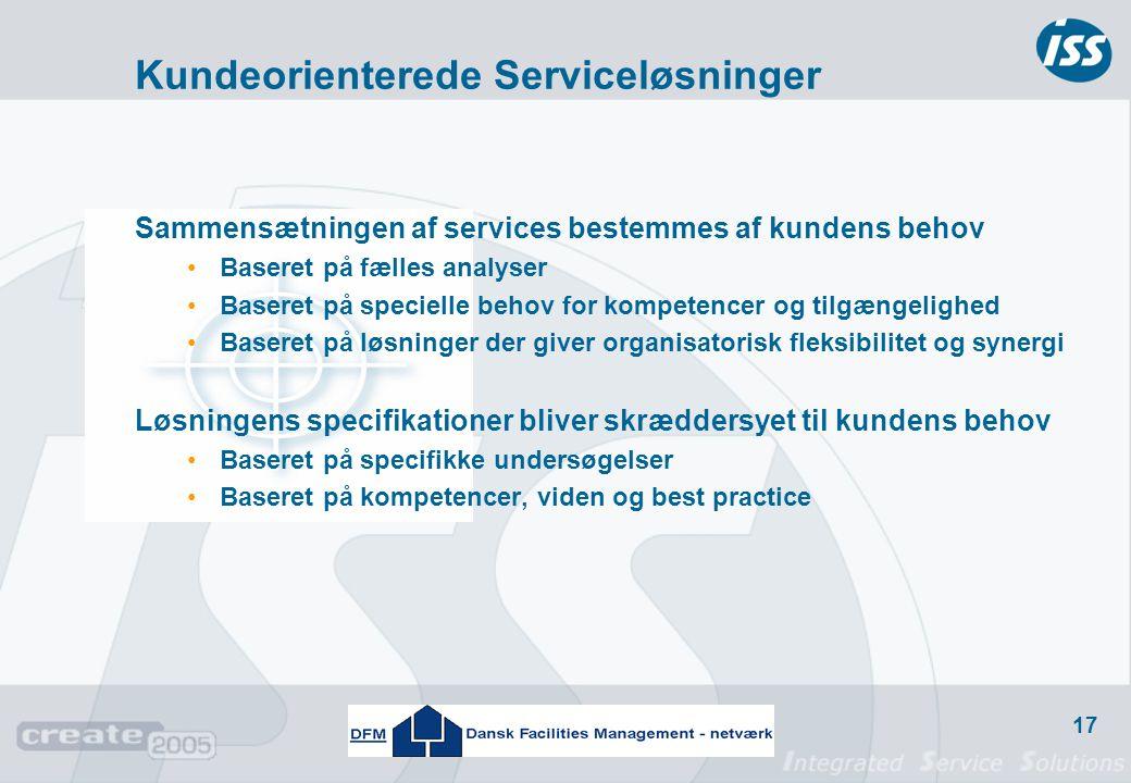 Kundeorienterede Serviceløsninger