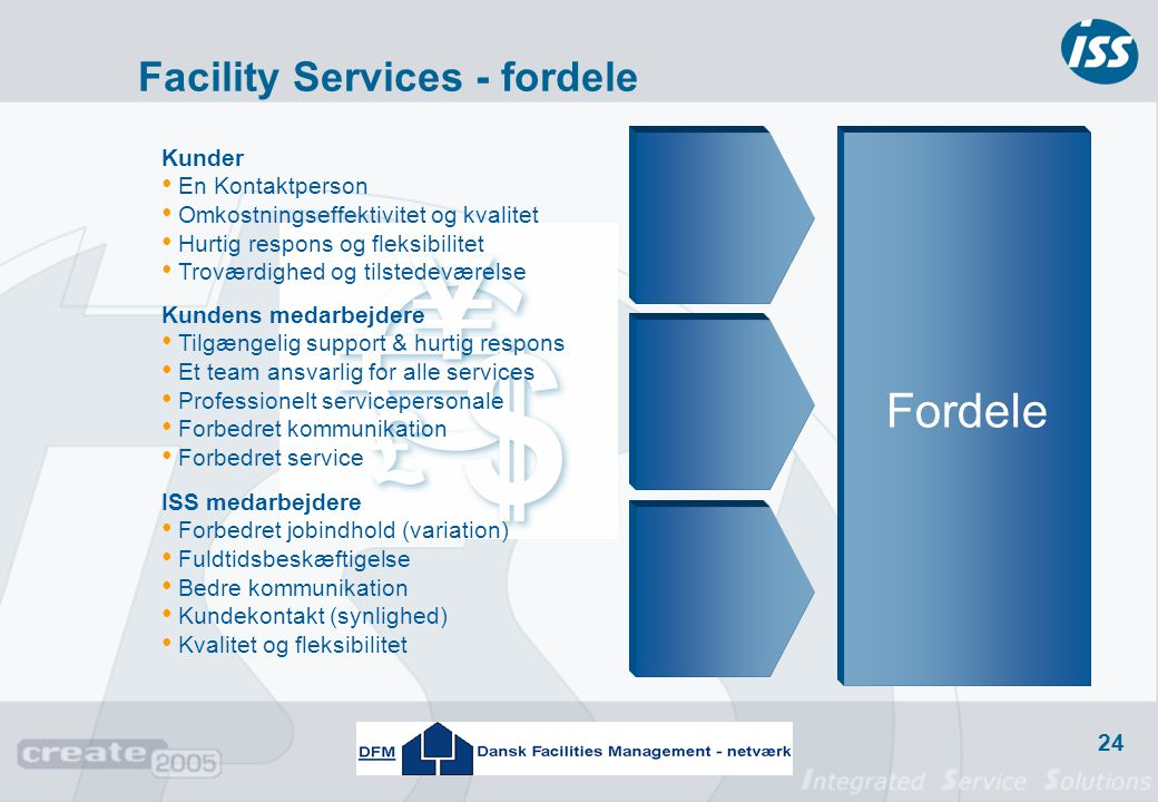 Facility Services - fordele