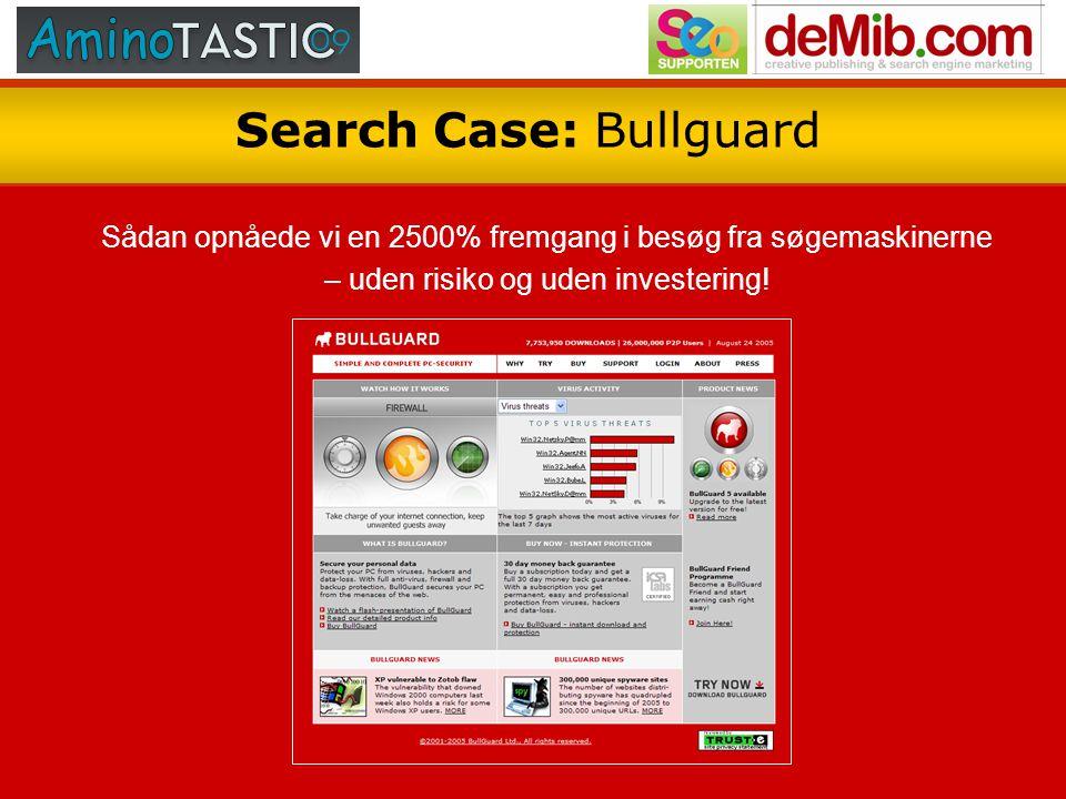 Search Case: Bullguard