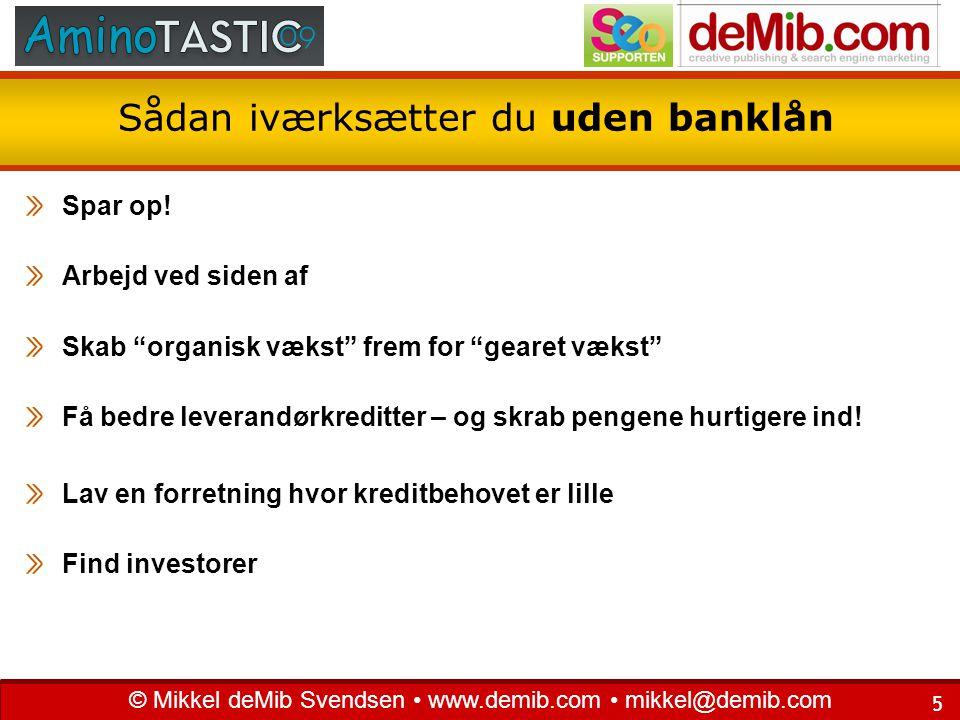 Sådan iværksætter du uden banklån