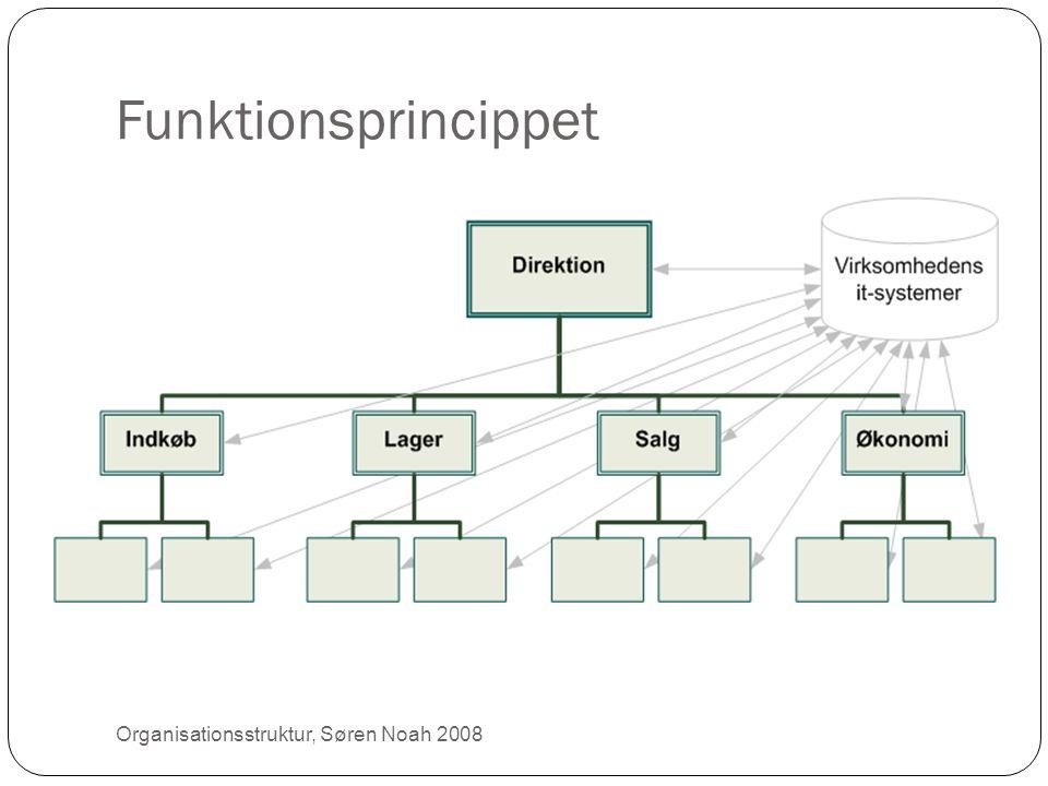 Funktionsprincippet Organisationsstruktur, Søren Noah 2008