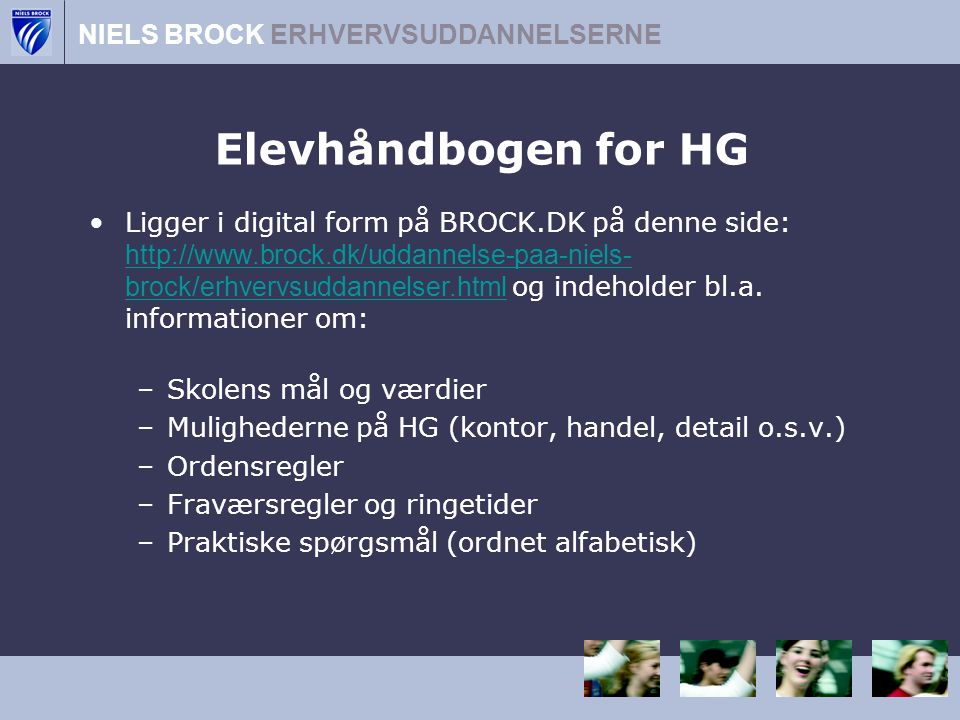 Elevhåndbogen for HG