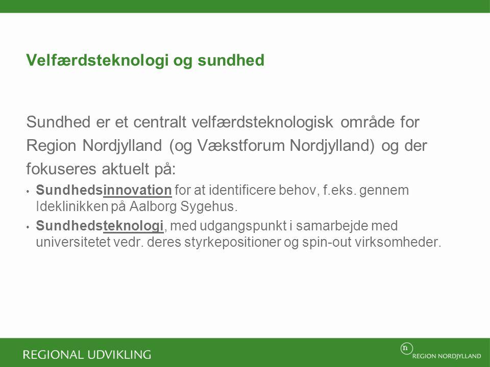 Velfærdsteknologi og sundhed