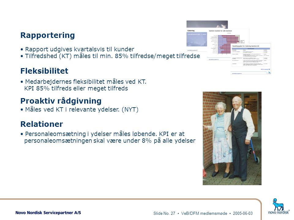 Rapportering Fleksibilitet Proaktiv rådgivning Relationer