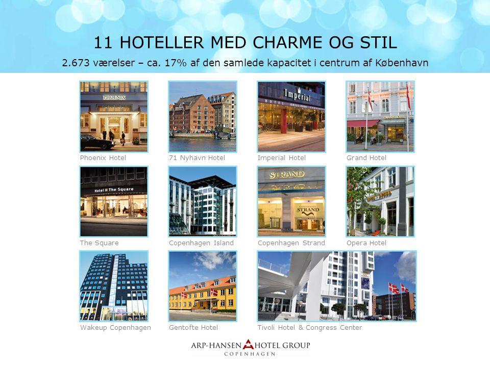 11 HOTELLER MED CHARME OG STIL