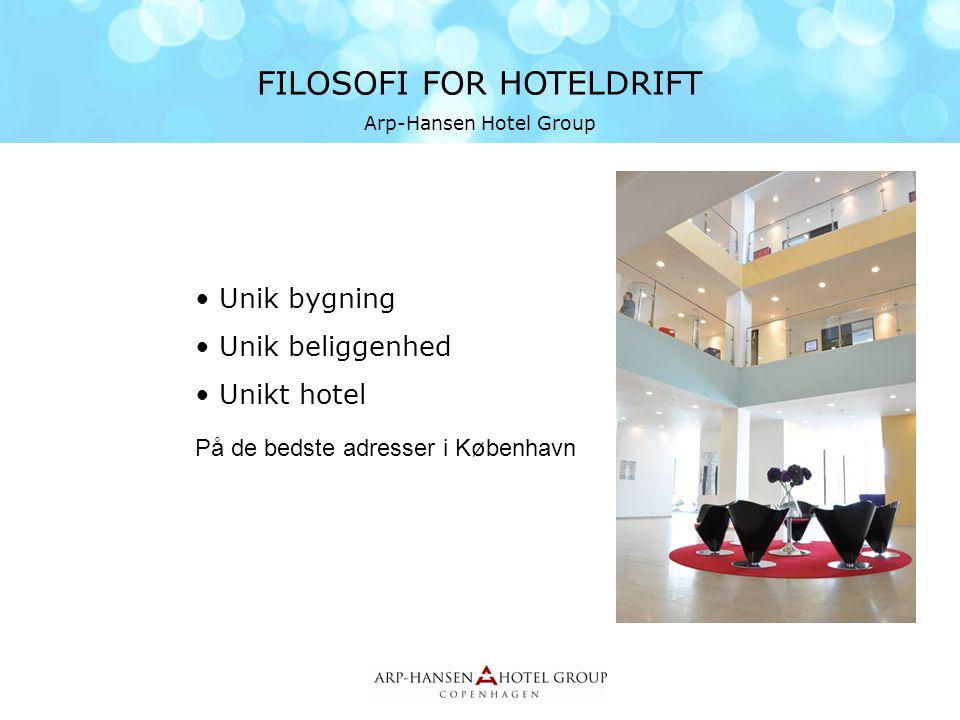 FILOSOFI FOR HOTELDRIFT