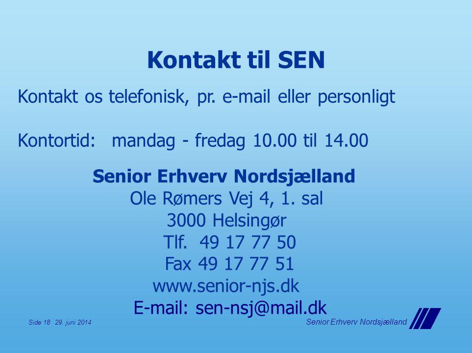 Senior Erhverv Nordsjælland