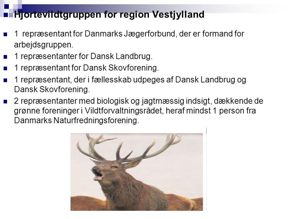 Hjortevildtgruppen for region Vestjylland