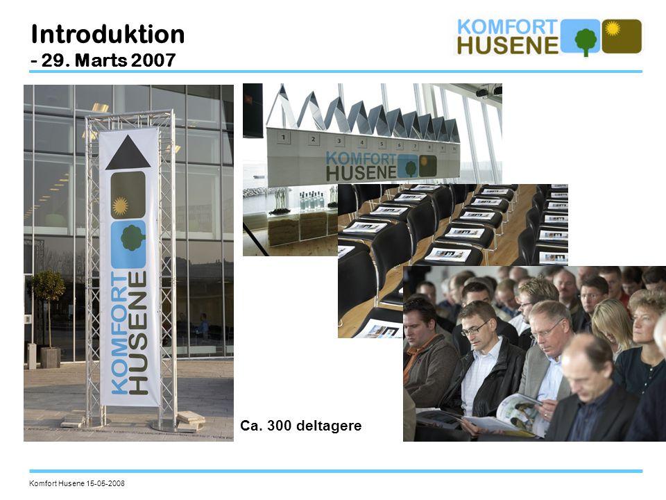 Introduktion - 29. Marts 2007 Ca. 300 deltagere