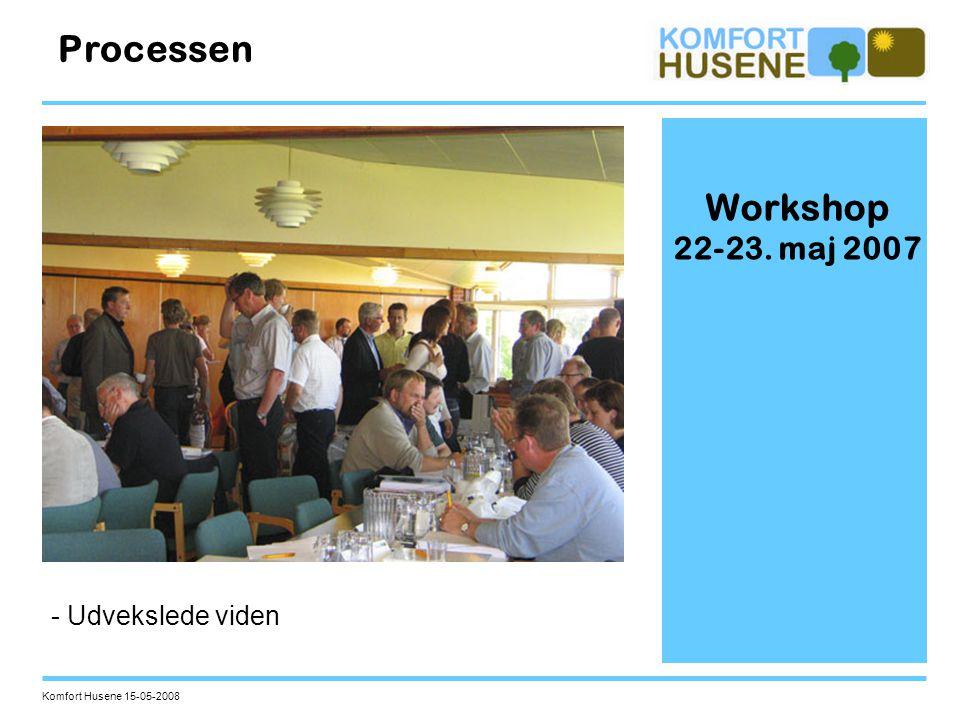 Processen Workshop 22-23. maj 2007 - Udvekslede viden
