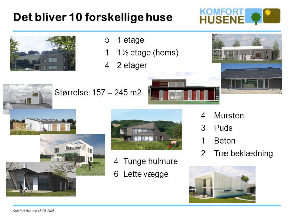 Det bliver 10 forskellige huse