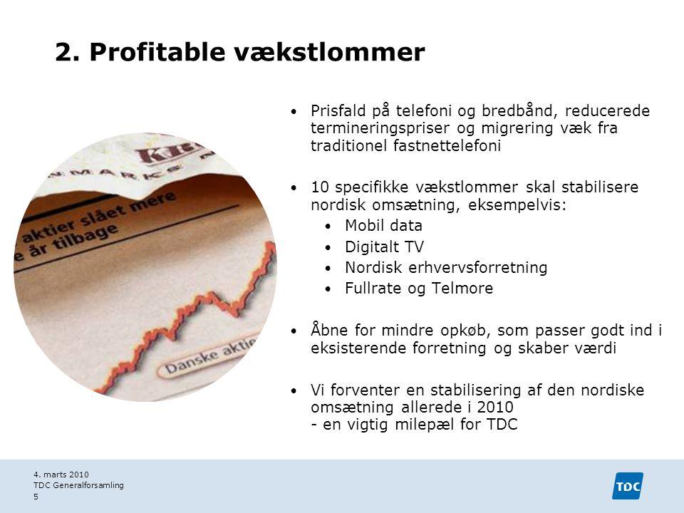 2. Profitable vækstlommer