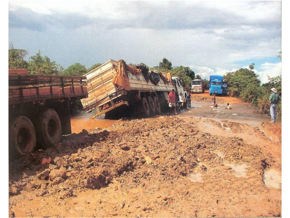Brasiliansk motorvej i høst