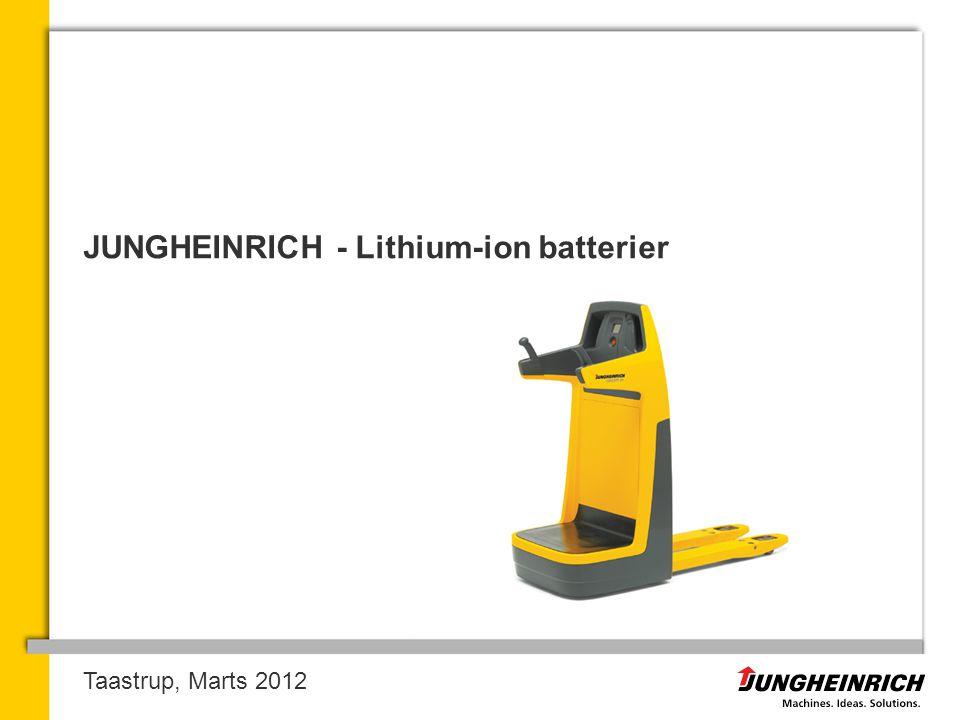 JUNGHEINRICH - Lithium-ion batterier