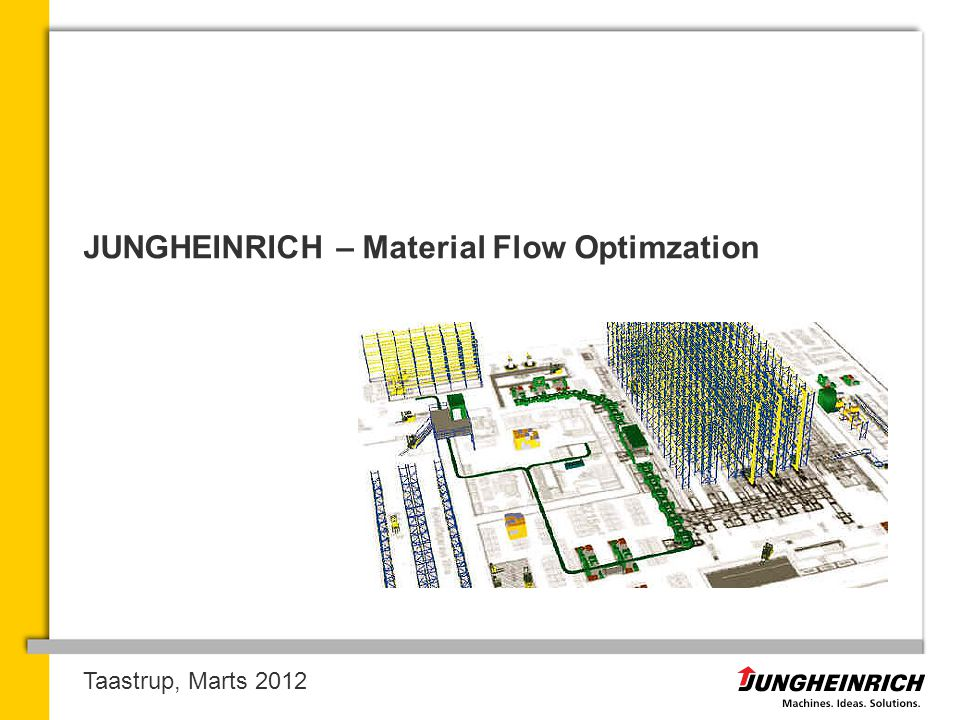 JUNGHEINRICH – Material Flow Optimzation
