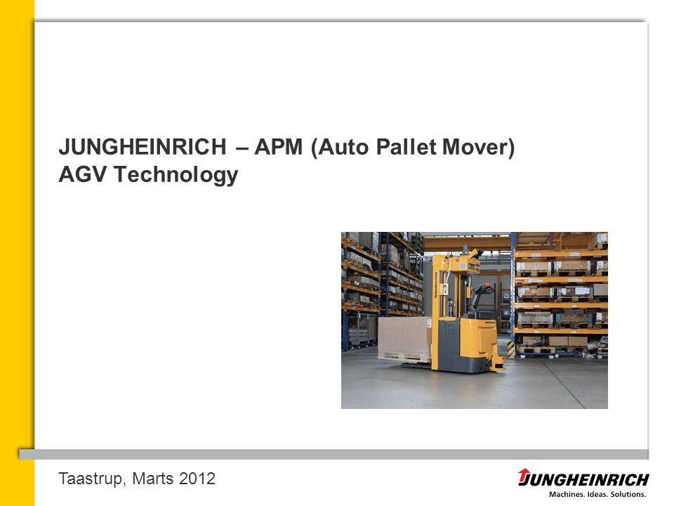 JUNGHEINRICH – APM (Auto Pallet Mover) AGV Technology