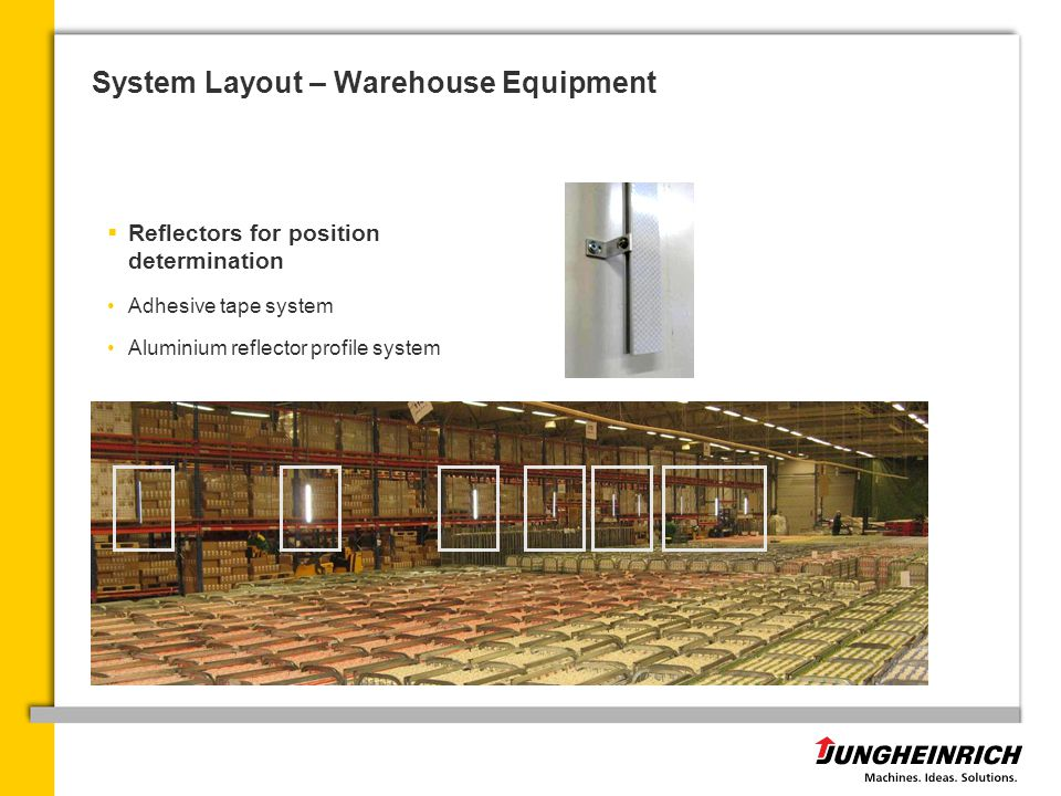 System Layout – Warehouse Equipment