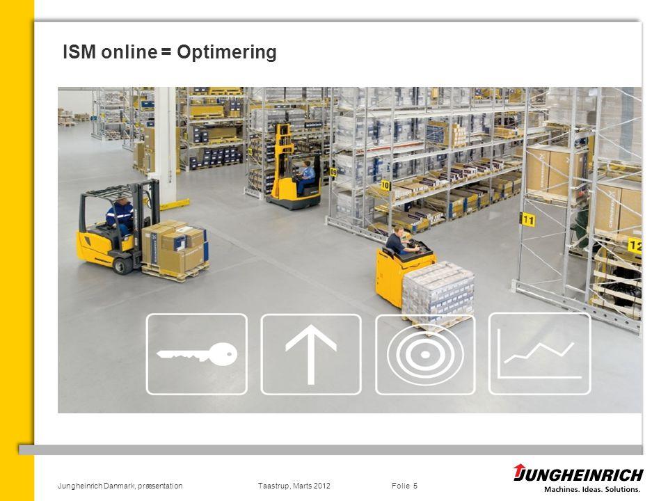 ISM online = Optimering