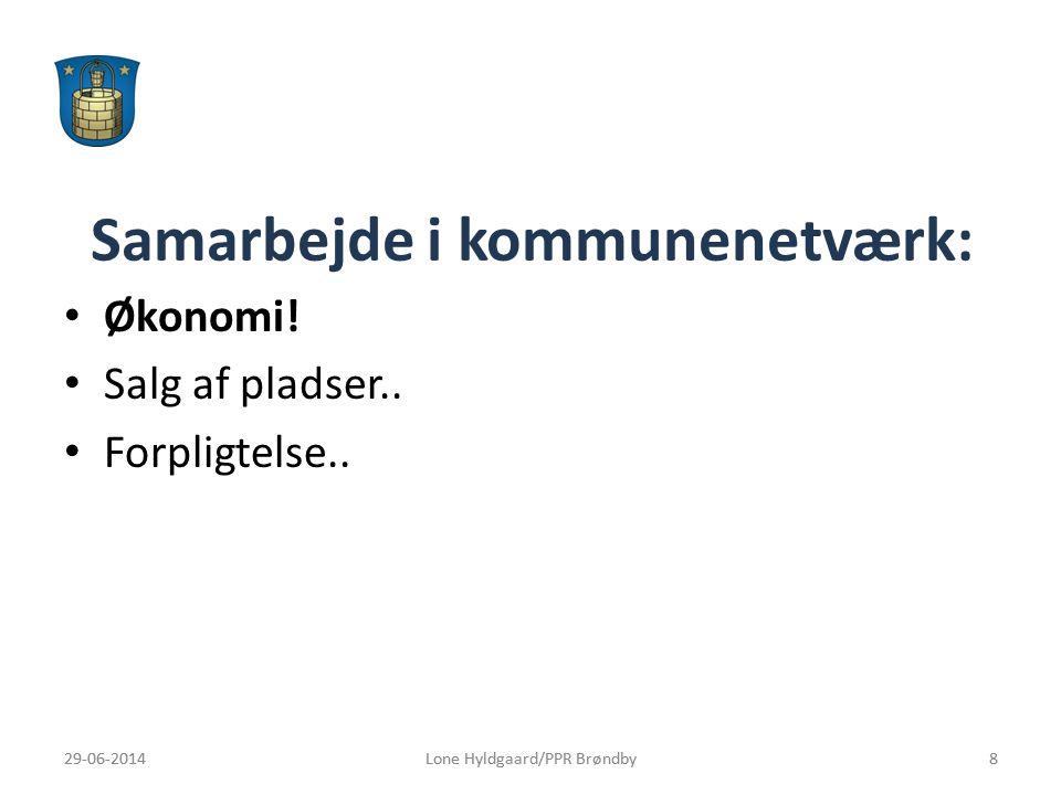 Samarbejde i kommunenetværk: