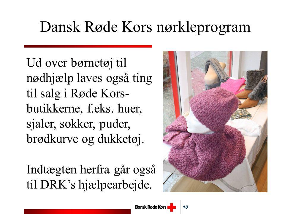 NØRKLEPROGRAMMET Dansk Røde Kors nørkleprogram
