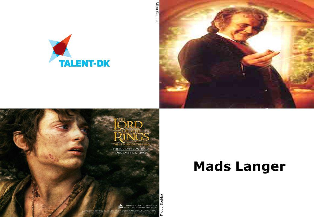 Bilbo Sækker Mads Langer Frodo Sækker