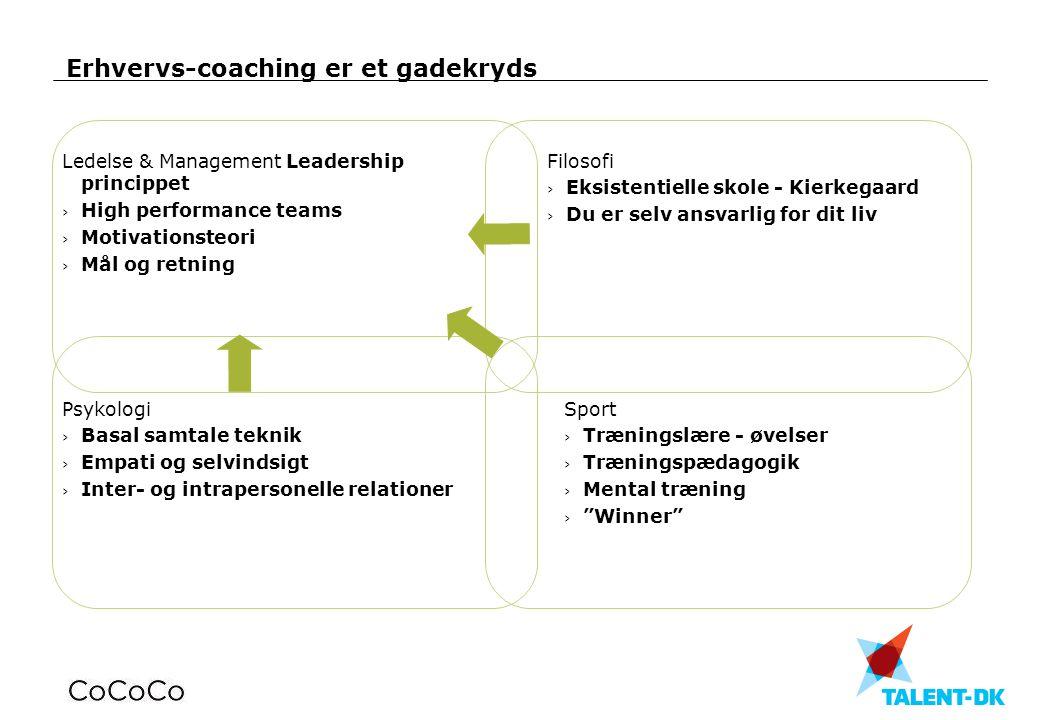 Erhvervs-coaching er et gadekryds