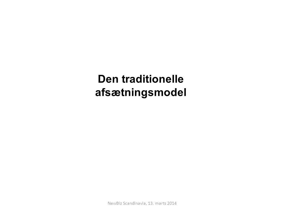 Den traditionelle afsætningsmodel