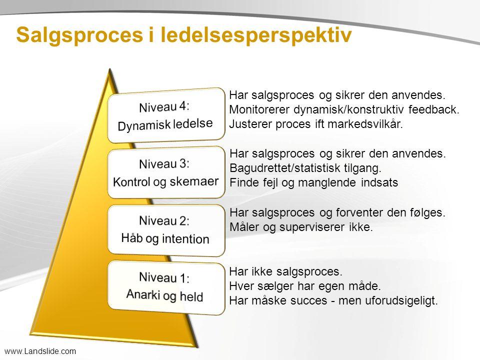 Salgsproces i ledelsesperspektiv